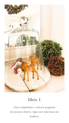 5 Ideias para decoração de Natal