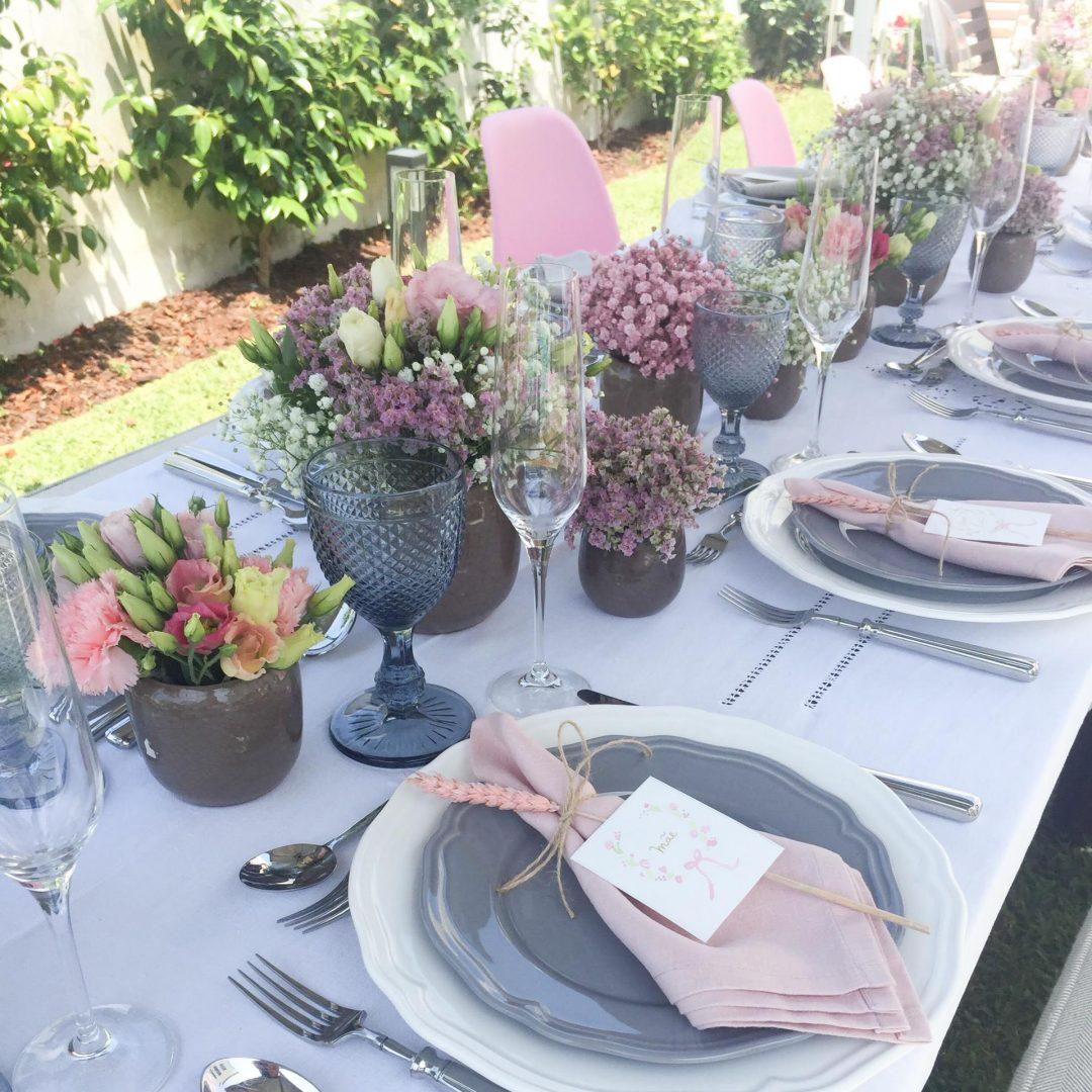 Decoração de Mesa para Festas em Casa