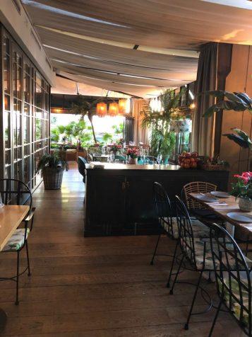 Designer de Interiores Inês Veiga Pereira no Restaurante Habanera - Madrid