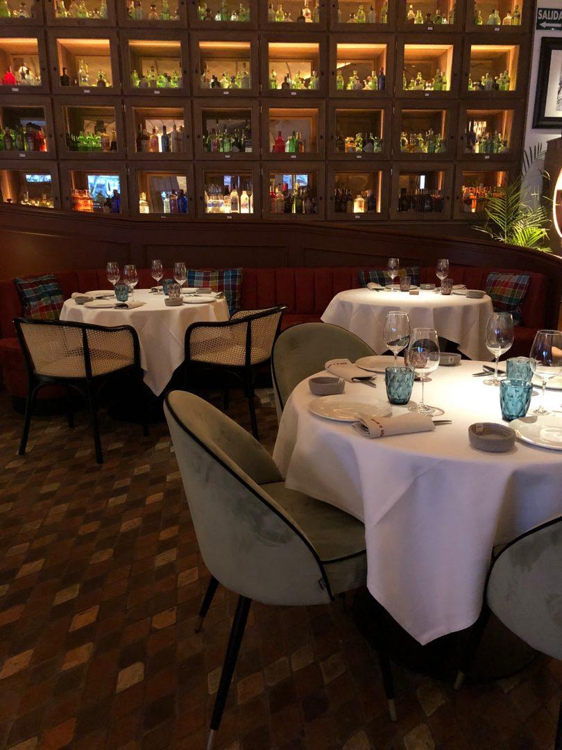Restaurante La Fonda Girona - Madrid